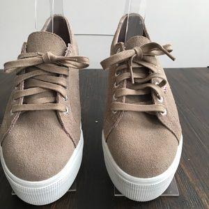Superga 2790 Linea Natural Platform Sneaker